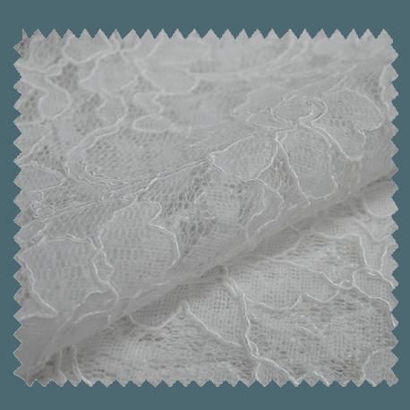 Tissu Dentelle Blanc