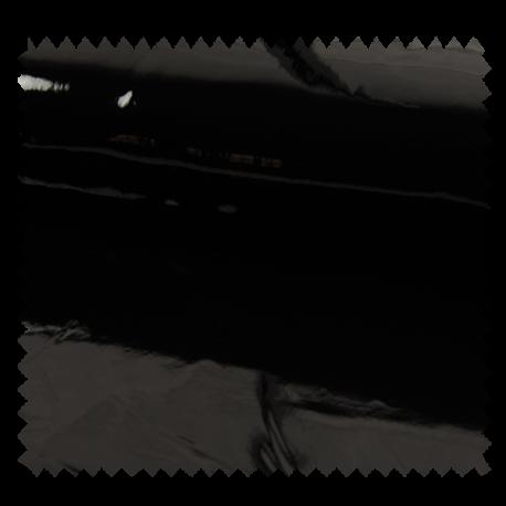 Tissu London Simili Cuir Noir