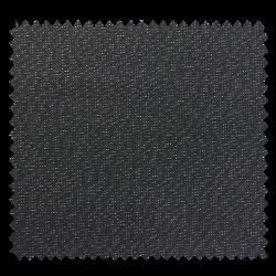 Tissu Cubex Lurex Enduit Anthracite