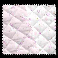 Tissu Licorne Celo Matelassé