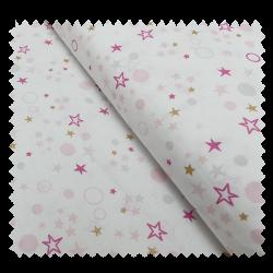 Tissu Celo Imprimé Rose gris