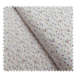 Tissu Koi Imprimé Poudre amarante