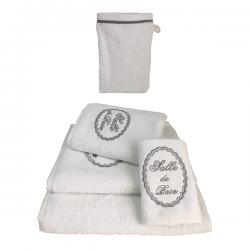 Linge de Toilette Tendresse Blanc