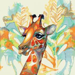 Coupon Girafe 45x45 cm