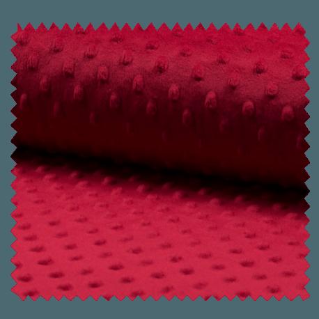Tissu Bubble Cerise