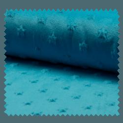 Tissu Tout Doux Turquoise