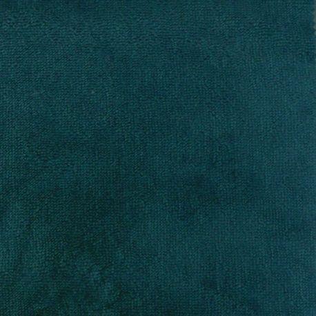 Tissu Micro Eponge Bambou Paon