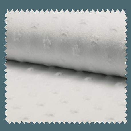 Tissu Tout Doux Blanc