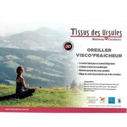 Oreiller Visco'fraicheur 3d Luxe