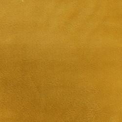 Tissu Micro Eponge Bambou Moutarde