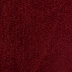 Tissu Micro Eponge Bambou Grenat