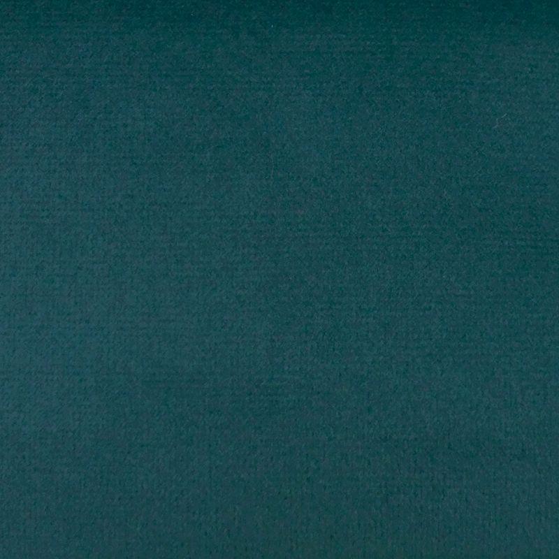Tissu Velours Uni Tornado Bleu Canard