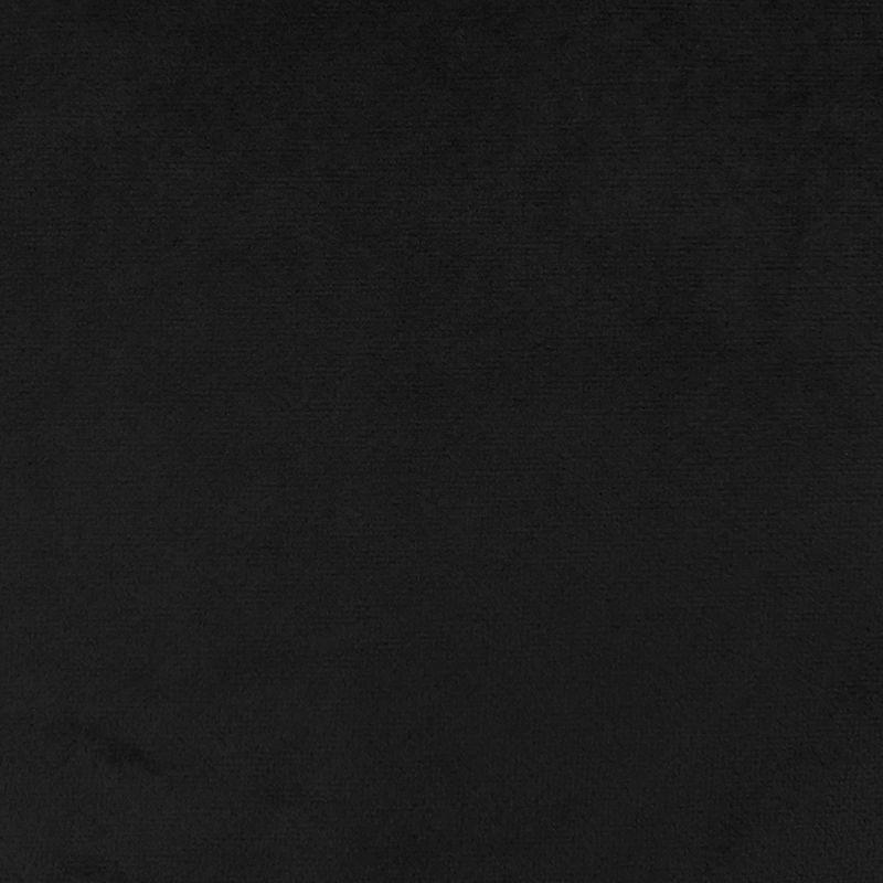 Tissu Velours Uni Noir