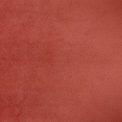 Tissu Velours Uni Mandarine
