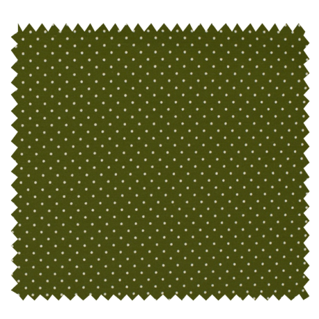 Tissu Imprimé Epingle Kaki