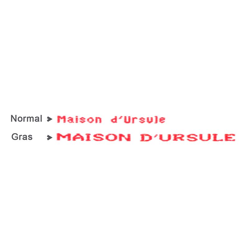 Noms et Prénoms Tissés (à coudre ou thermocollant)