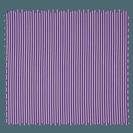 Tissu Rayé Violet
