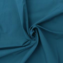 Tissu Popeline Uni Canard