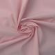 Tissu Popeline Uni Blush