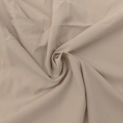Coupon Tissu Popeline Uni Galet 100 x 150 cm