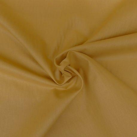 Tissu Reverie Toile A Drap Curcuma