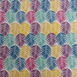 Tissu Gualan Cretonne Multicolore