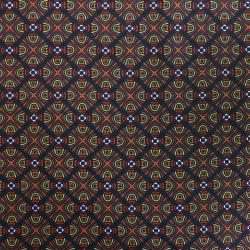 Coupon Tissu Nihoa Cretonne Rouge 100 x 140 cm