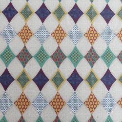 Tissu Pacaya Cretonne Multicolore