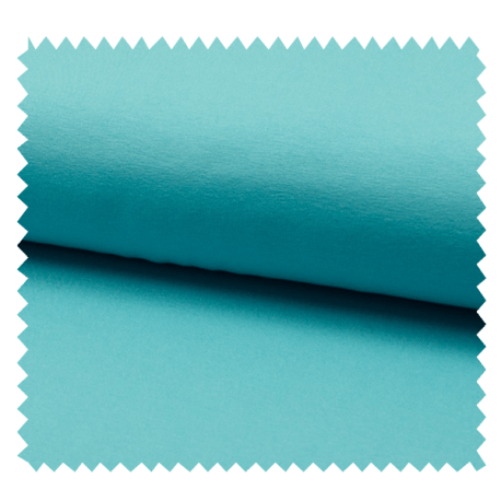Tissu Tricot Luxe Uni Turquoise