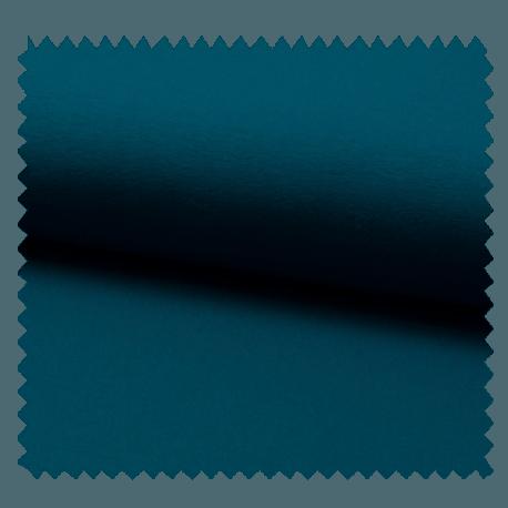 Tissu Tricot Luxe Uni Bleu Canard