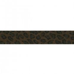 Biais replié leopard