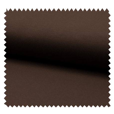 Tissu Tricot Luxe Uni Brun