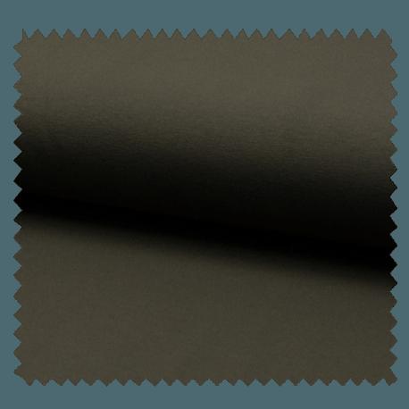 Tissu Tricot Luxe Uni Kaki Foncé