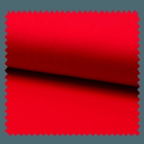 Tissu Tricot Luxe Uni Cerise