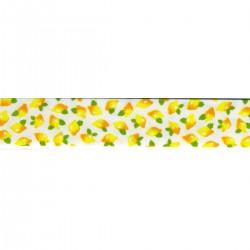 Biais replié citrons