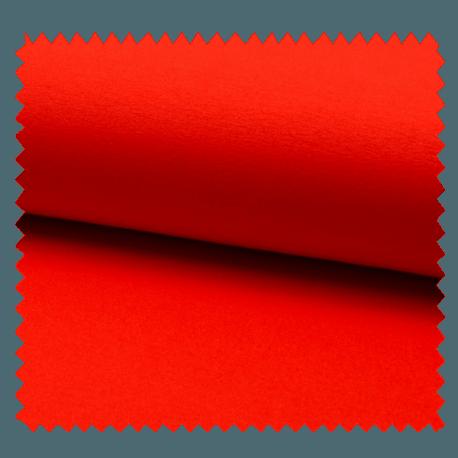 Tissu Tricot Luxe Uni Mandarine