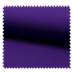 Tissu Tricot Luxe Uni Aubergine