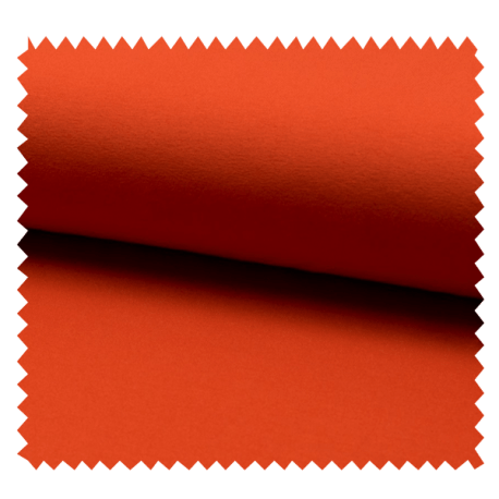 Tissu Tricot Luxe Uni Orange