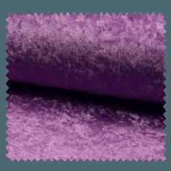 Tissu Panne De Velours Uni Violette