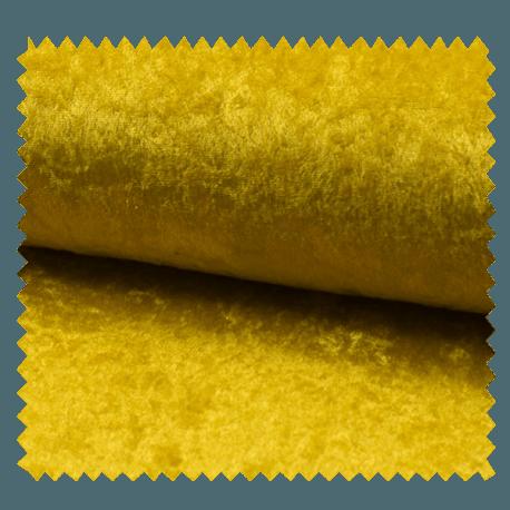 Tissu Panne De Velours Uni Gold