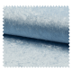 Tissu Panne De Velours Uni Bleu