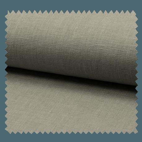Tissu Lin Uni Grey