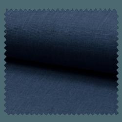 Tissu Lin Uni Bleu