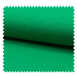 Tissu Lin Uni Vert