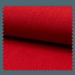 Tissu Lin Uni Rouge