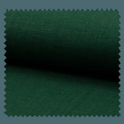 Tissu Lin Uni Vert Bouteille