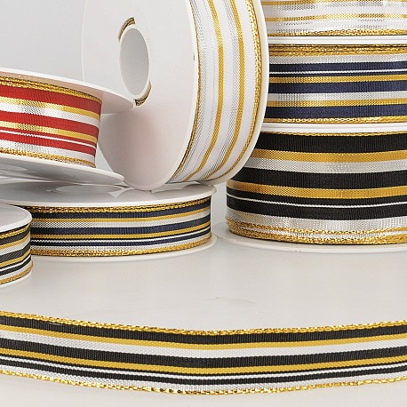 Ruban laitonne stripes