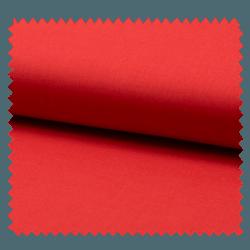 Voile De Coton Uni Rouge
