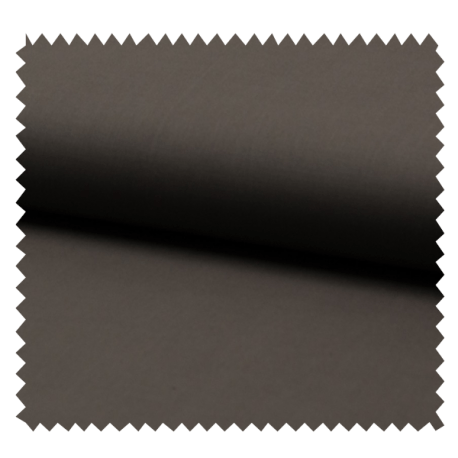 Voile De Coton Uni Vison