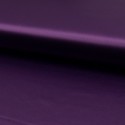 Tissu Satin Stretch Violet